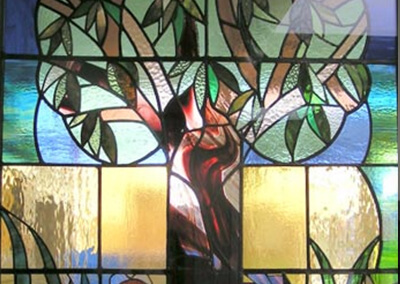 Garden tribute window, Woodfield school, Harrogate