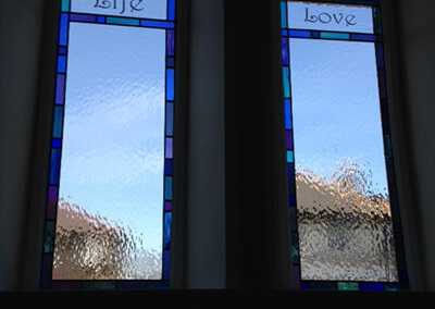 Lancet windows (x6) with key messages