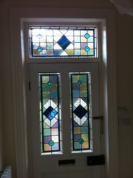 Stained glass north yorkshire caryl hallett for Door n window designs