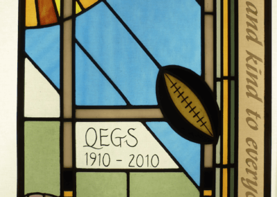 Wakefield school centenary windows