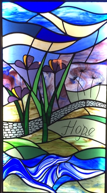 Stained Glass North Yorkshire, Caryl Hallett